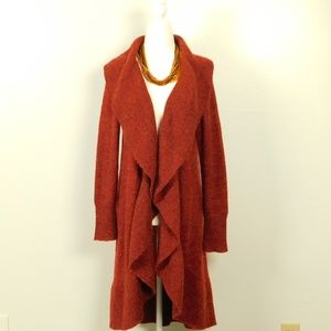 The Limited Cardigan Duster Draped Mohair Size M